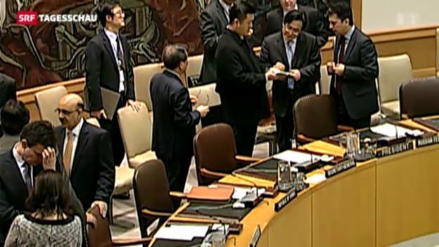 Video «UNO verschärft Sanktionen» abspielen