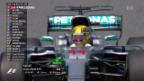 Video «Sauber-Team holt erste Punkte» abspielen