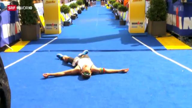 Hitzeschlacht beim Ironman