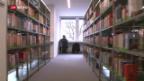 Video «Bibliotheken: Angst vor neuen Urheberrechtsabgaben» abspielen