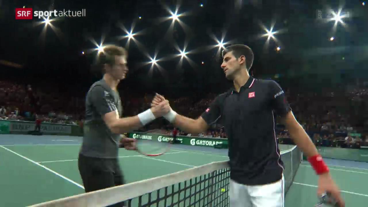 Tennis: ATP Paris-Bercy, Djokovic - Murray