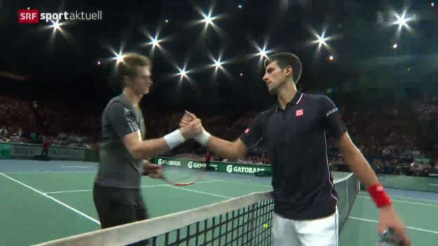 Video «Tennis: ATP Paris-Bercy, Djokovic - Murray» abspielen