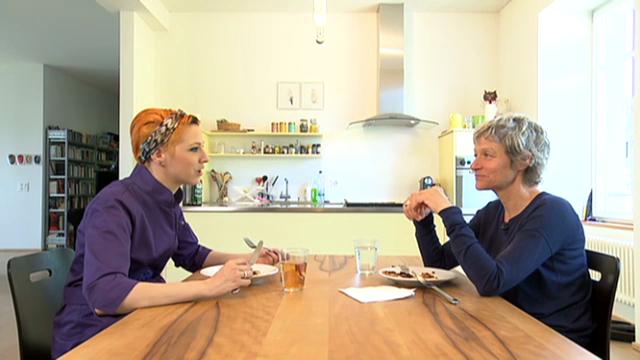 Eiskalt serviert: Der Kühlschrank von Talkerin Barbara Bürer