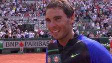 Link öffnet eine Lightbox. Video Nadal: Guter Start in die «Mission La Decima» abspielen