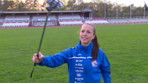 Video «Fussball: Frauen WM 2015, Porträt Lia Wälti» abspielen