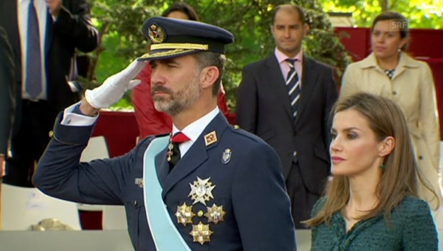 Video «Nationalfeiertag in Spanien (unkommentiert)» abspielen