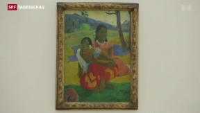 Video «Ein Gauguin ist neu teuerstes Bild der Welt» abspielen