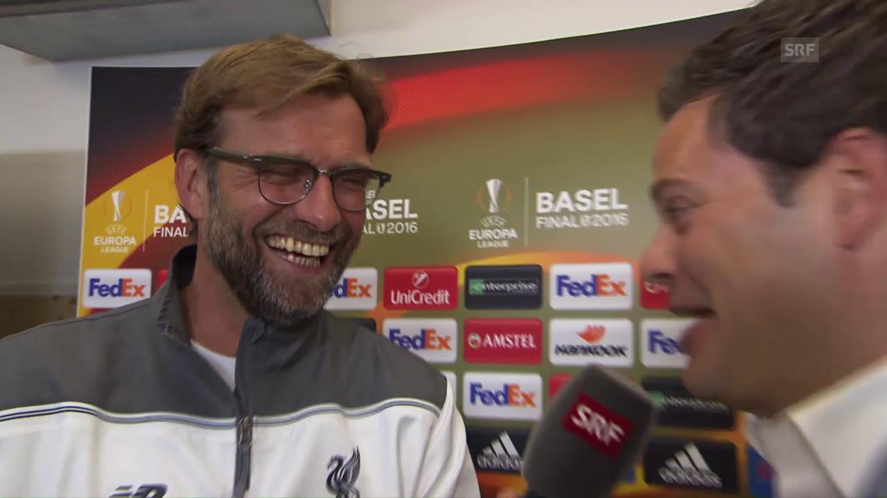 Klopp: «Ich kenne Basel, aber habe alles vergessen»