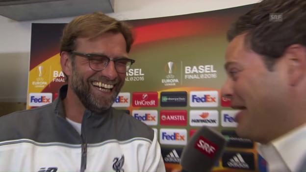 Video «Klopp: «Ich kenne Basel, aber habe alles vergessen»» abspielen