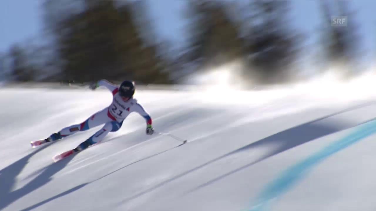 Ski: Trainingsfahrt von Lara Gut