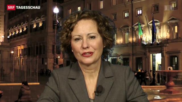 SRF-Sonderkorrespondentin Beatrice Müller zur Wahl in Italien