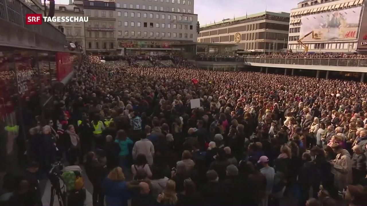Über 20'000 an «Liebes-Kundgebung»