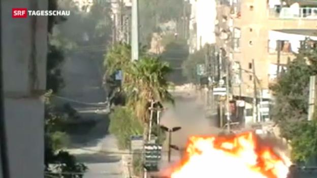 Video «EU und Uno gegen militärische Lösung in Syrien» abspielen