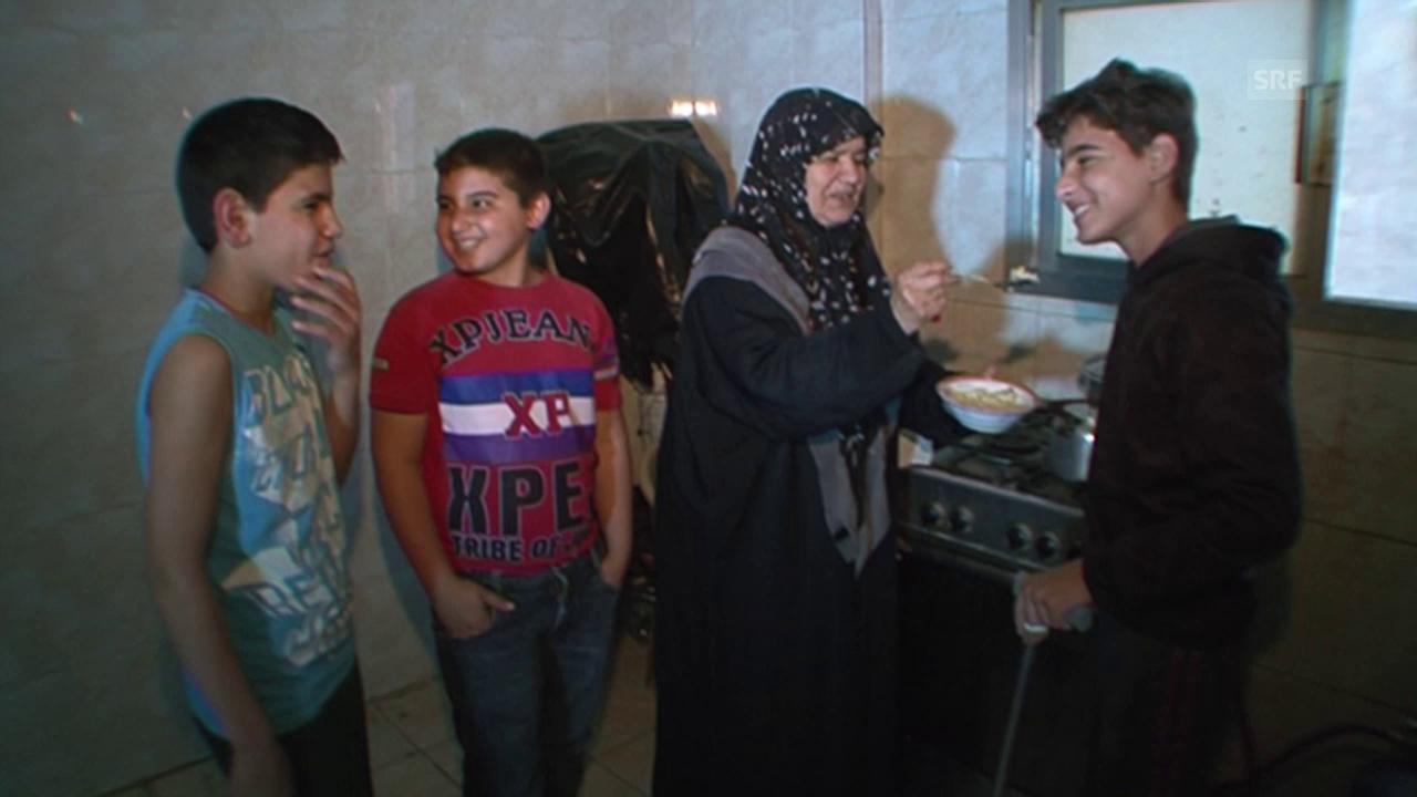 Und dann endlich: Der glücklichste Tag in Bashars Leben