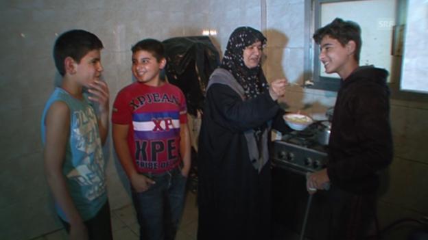 Video «Und dann endlich: Der glücklichste Tag in Bashars Leben» abspielen