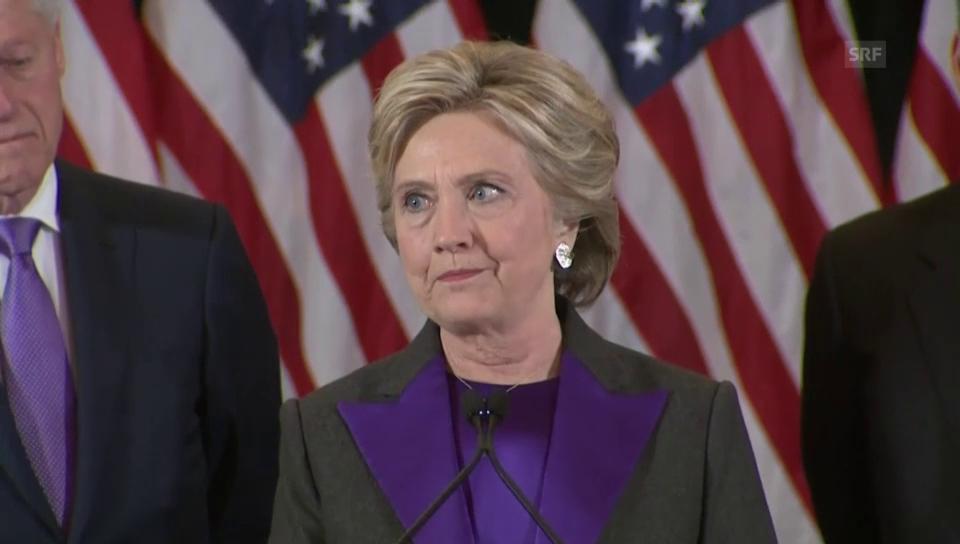 Hillary Clinton will Trump unterstützen