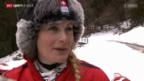 Video «Sotschi 2014: Medaillenhoffnung Fanny Smith» abspielen
