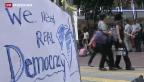 Video «Rücktrittsultimatum in Hongkong» abspielen