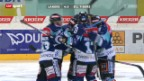 Video «Eishockey: Playout-Final Lakers-Tigers» abspielen