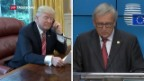 Video «Jean-Claude Juncker trifft Donald Trump» abspielen