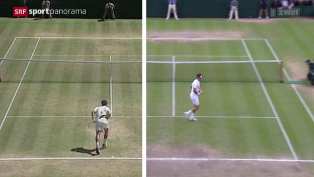 Video «Tennis: Der Wandel im Rasen-Tennis» abspielen