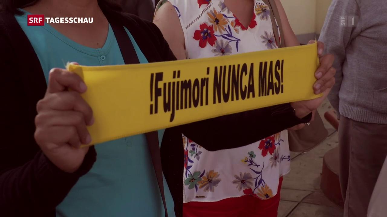 Hinterbliebene von Opfern kämpfen gegen Fujimoris Begnadigung