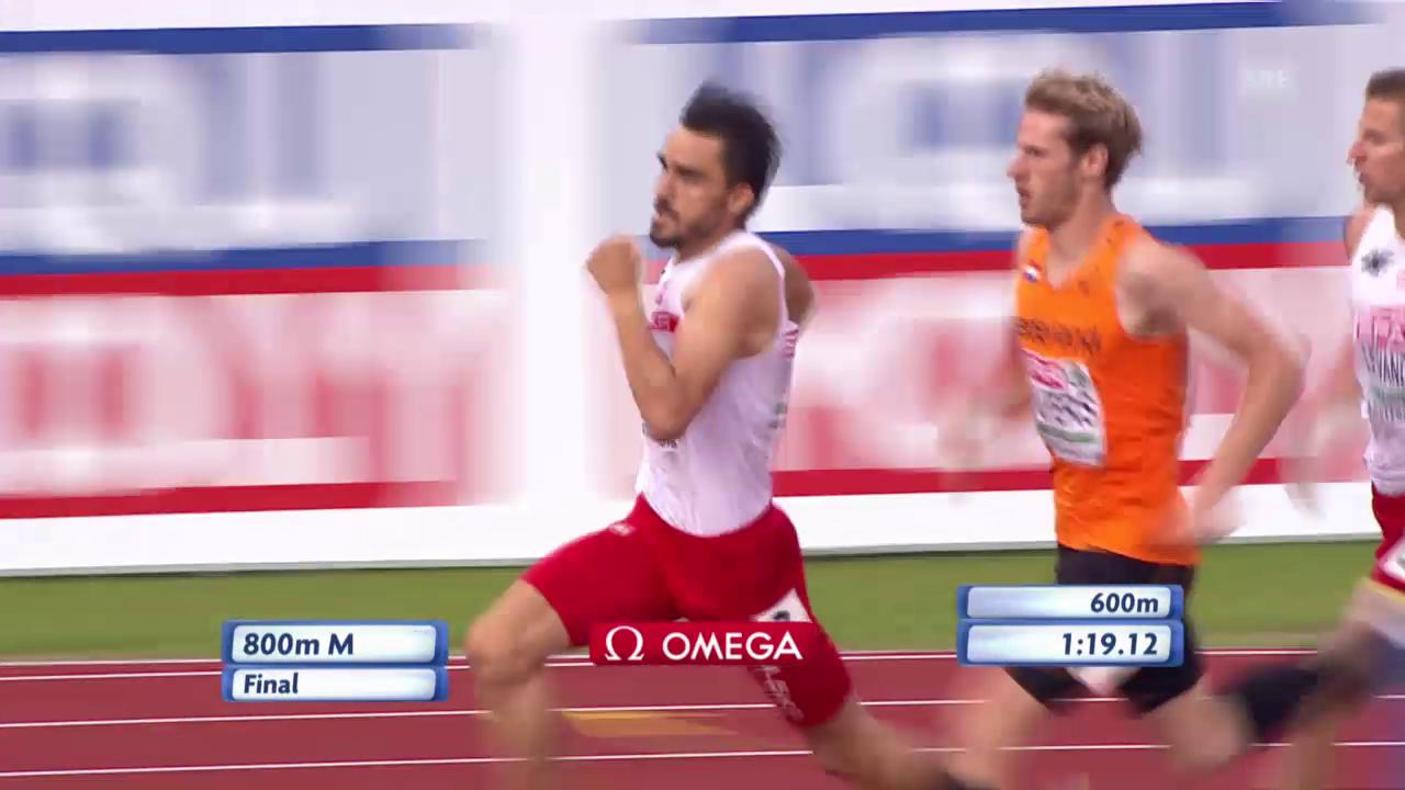 800 m: Kszczots grosser Antritt