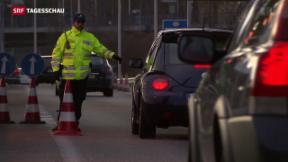 Video «Keine systematischen Grenzkontrollen» abspielen