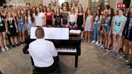 Laschar ir video «Vossa chanzun preferida: Jugendchor der Schule Wiedlisbach»
