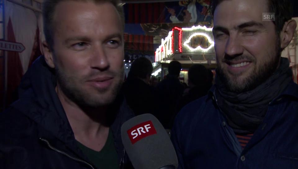 Jonny Fischer und Manuel Burkart