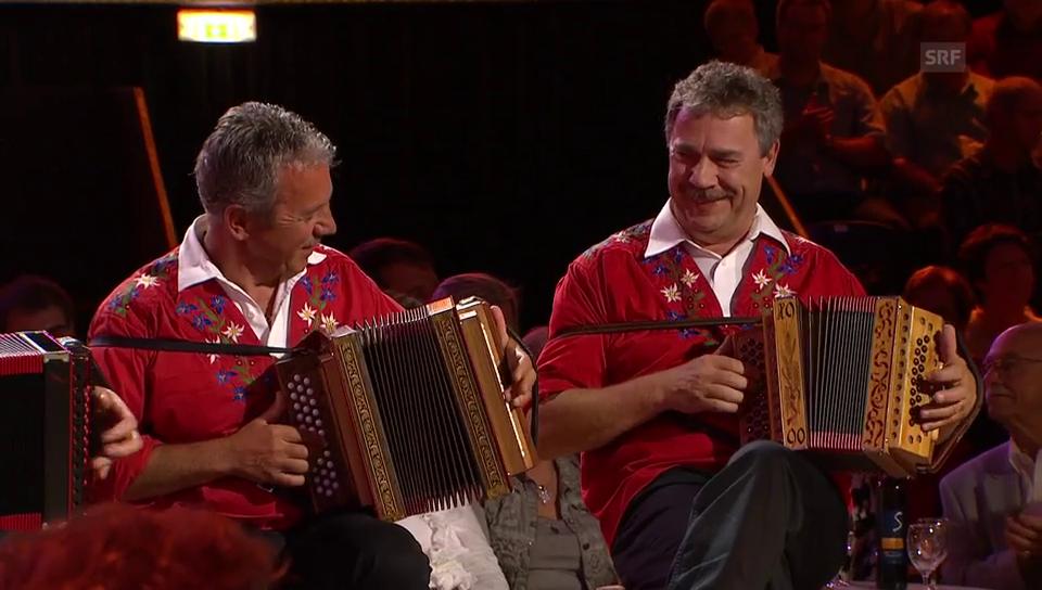 Die Schmid-Buebe in der Sendung «Viva Volksmusik»
