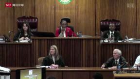 Video «Nachbarin sagt gegen Pistorius aus» abspielen