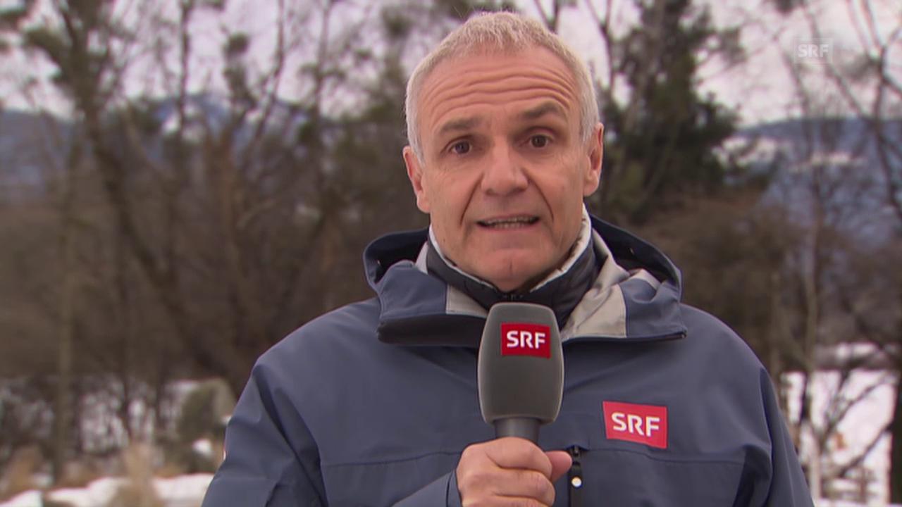Skispringen: Michael Stäuble über Gesundheitszustand von Simon Ammann