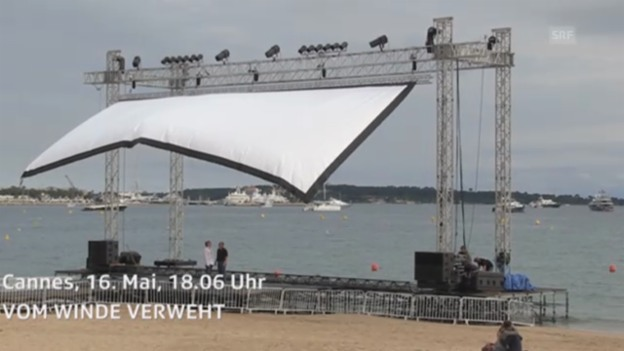 Video «Cannes Momente: Vom Winde verweht» abspielen