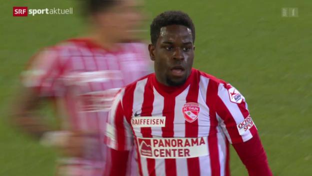 Video «Thun mit Last-Minute-Sieg gegen Lugano» abspielen