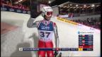Video «Skispringen: 2. Sprung von Simon Ammann in Wisla (unkommentiert)» abspielen