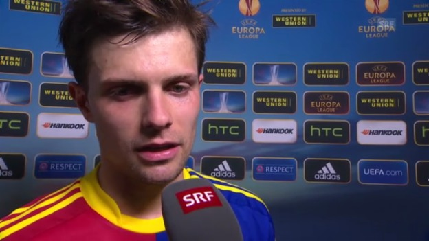 Video «Fussball: Interview mit Valentin Stocker» abspielen