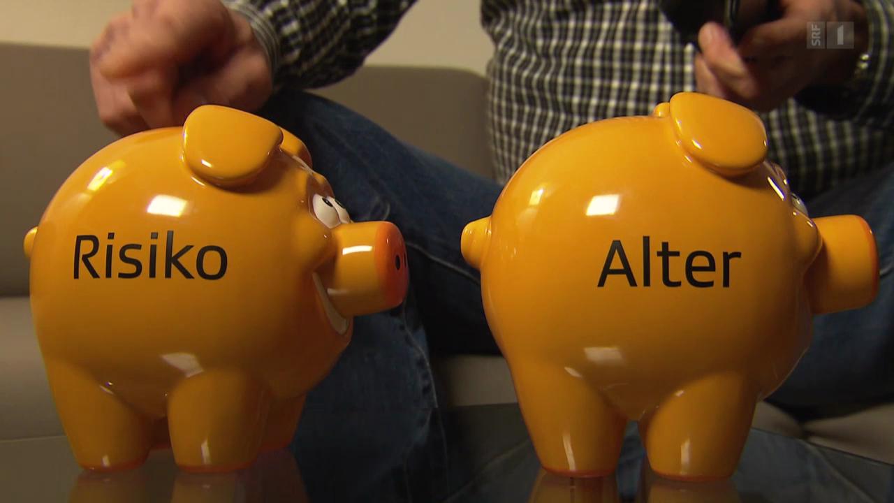 Gierige Pensionskassen: Versicherte zahlen zu hohe Prämien