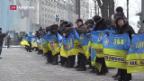 Video «Ukrainischer Regierung im Umfragetief» abspielen