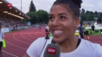 Video «Leichtathletik: Meeting in Luzern, die Highlights» abspielen