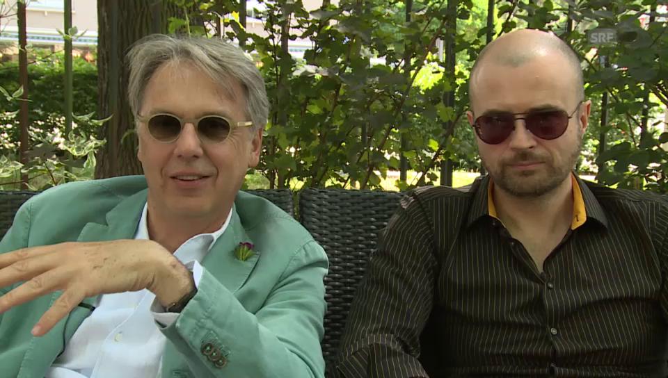 André Küttel und Massimo Rocchi