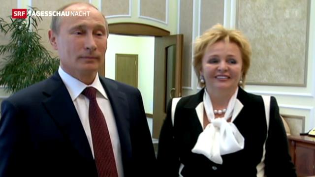 Ehepaar Putin trennt sich