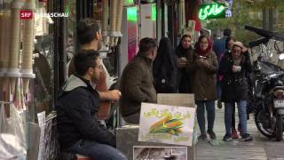 Video «Wirtschaftliche Not im Iran» abspielen