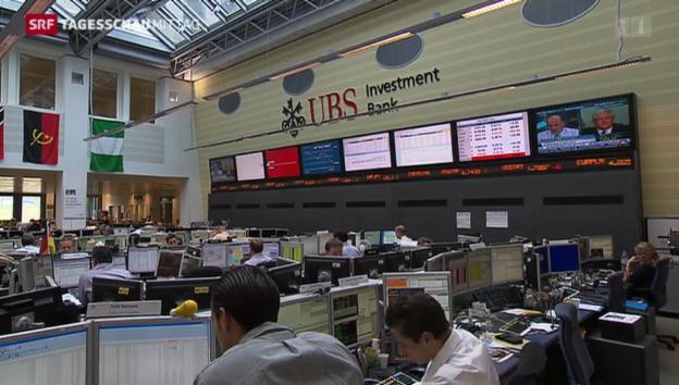 Video «Die UBS tätigt grosse Rückstellungen» abspielen