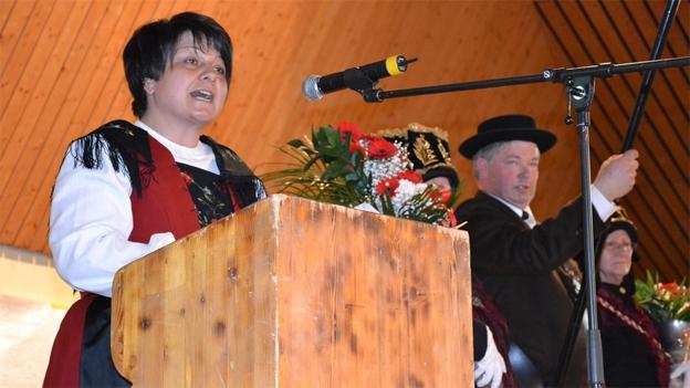 Karin Niederberger wirbt um weitere Anmeldungen
