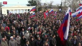 Video «Separatistische Strömungen im Osten der Ukraine» abspielen