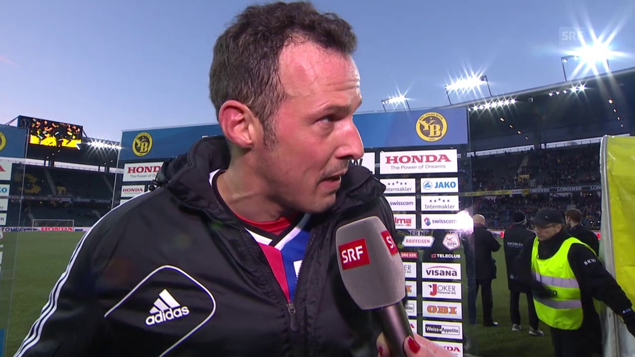 Fussball: Super League, YB - Basel, Interview mit Marco Streller