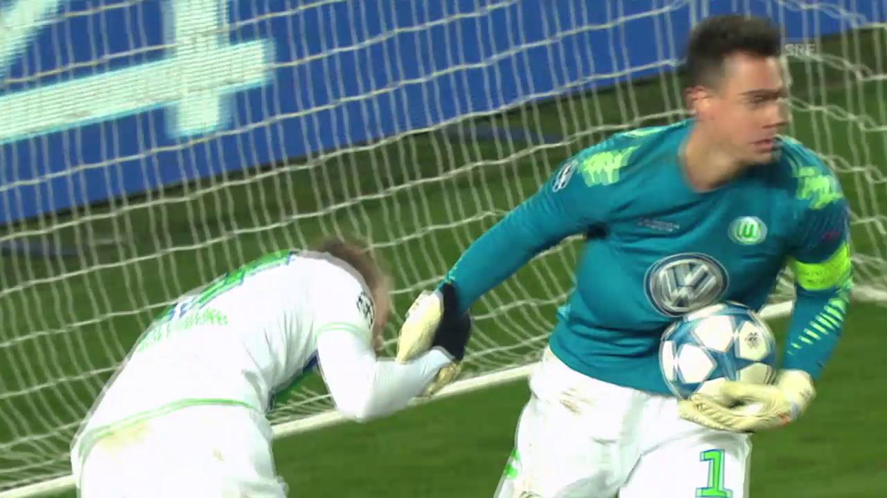 Fussball: Champions League 2015/16, 5. Runde, ZSKA Moskau - Wolfsburg