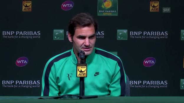 Video «Federer: «Der Einstieg war etwas harzig»» abspielen