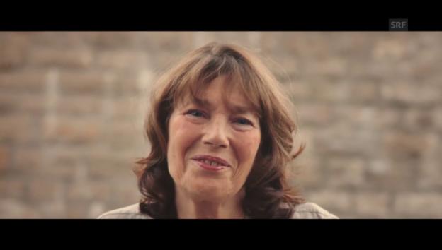 Video «Ehrung für Jane Birkin am Filmfestival Locarno» abspielen